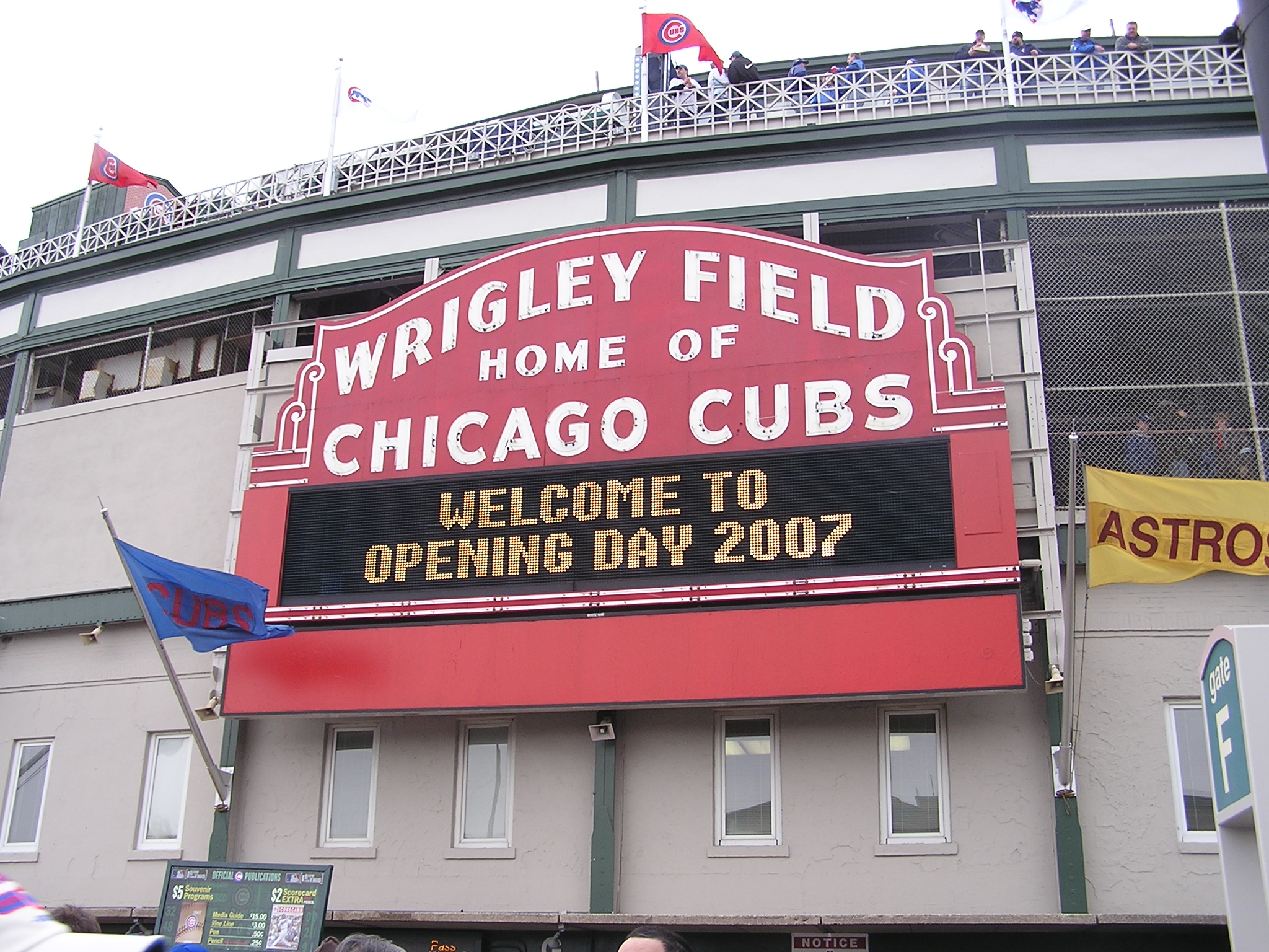 Wrigley Field Marquee - Chicago Cubs