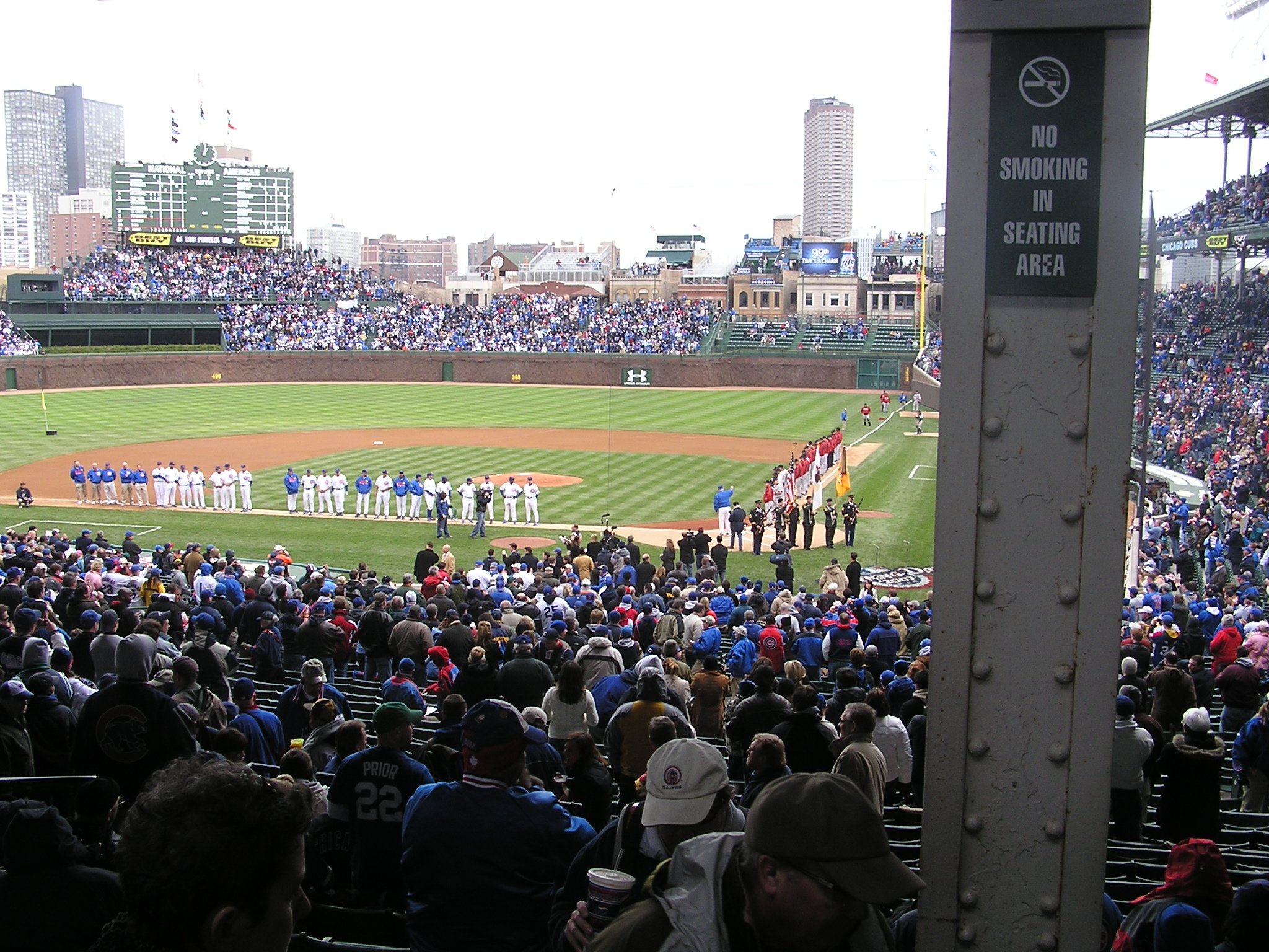 Opening Day 2007 - Wrigley Field, Chicago, Il