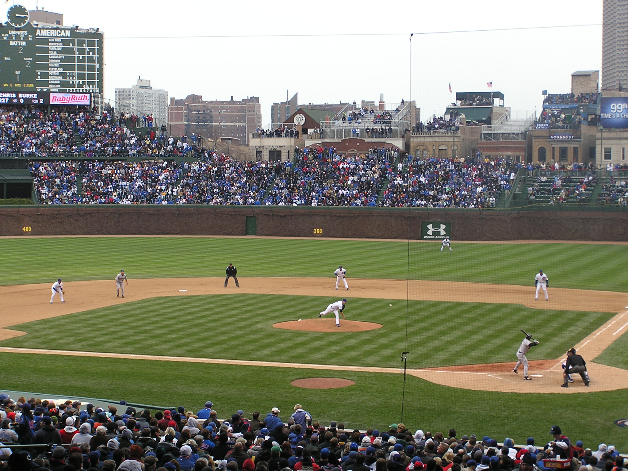 The Pitch - Wrigley Field, Chicago, Il
